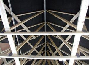 Comment attacher une ferme de toit aux murs