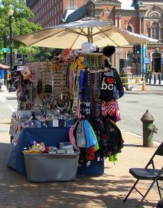 À propos de vendeurs de rue