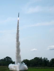 Rampes de lancement de roquette artisanale