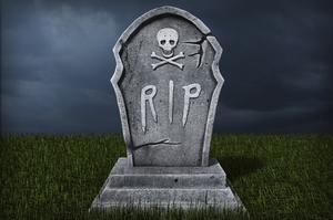 comment faire de pierres tombales pour les d corations d 39 halloween. Black Bedroom Furniture Sets. Home Design Ideas