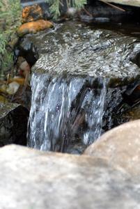 Comment construire un paysage aquatique cascade