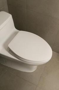 Comment fixer les carreaux de vinyle autour d'une toilette dans une salle de bains