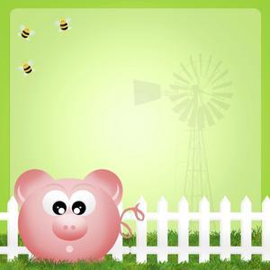 Gâteau idées de décoration pour les trois petits cochons
