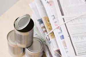 Tin Can artisanat pour Noël