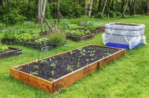 Comment utiliser des traverses en bois pour les lits de jardin