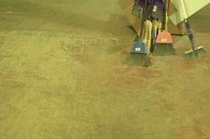 Comment peindre vieux béton Planchers