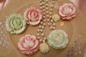 Indications pour la fabrication des fleurs de sucre