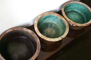 Vitrage de poterie bricolage