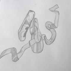 Comment dessiner Ballet Slippers