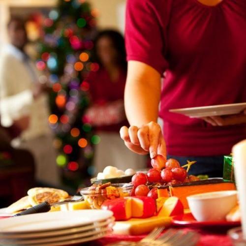 Plateaux Tempting: nourriture festive du parti
