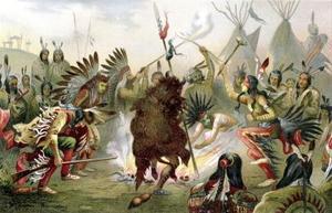 Douanes et cérémonies des Indiens Sioux
