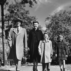 Mode enfants dans les années 1950