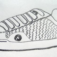 Comment dessiner une chaussure Airwalk
