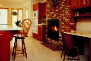 Comment nettoyer une cheminée de brique rouge
