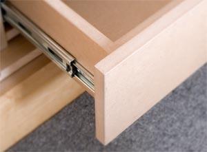 À propos de glissières de tiroir