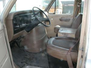 1986 Ford Econoline information