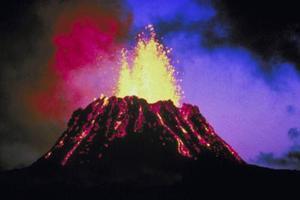 projet de Volcano pour les enfants en 4e année