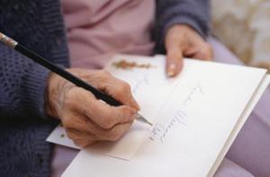 Êtes-vous le retrait dans une lettre?