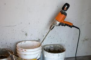 Comment Plâtre un ciment Bloquer mur