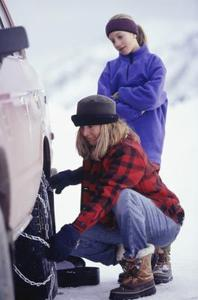 Comment faire pour installer les chaînes laclede de pneus