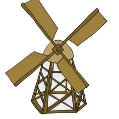 comment construire un moulin vent en bois mod le. Black Bedroom Furniture Sets. Home Design Ideas