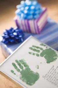Toddler Handprint Idées
